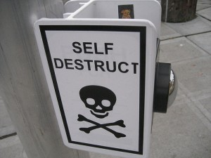 end self destruction